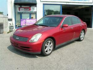 2003 INFINITI G35 Sedan Luxury Navi No Accident Leather