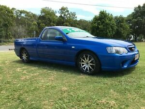 2006 Ford Falcon BF MkII XR6 Blue 5 Speed Manual Utility Clontarf Redcliffe Area Preview