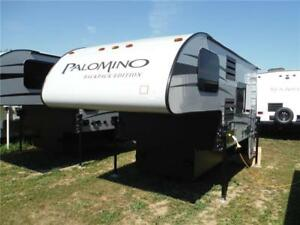 2017 Palomino Backpack HS6601 Luxury Truck Camper with bathroom
