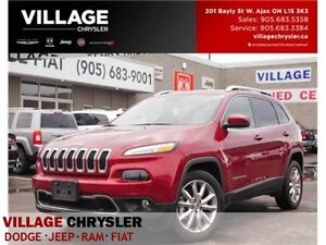 2016 Jeep Cherokee Limited|NAV|LEATHER|REMOTE|BACKUP CAM
