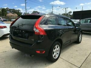 2011 Volvo XC60 DZ MY12 T5 PwrShift Teknik Black Semi Auto Wagon Southport Gold Coast City Preview
