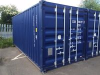 20ft STORAGE SHIPPING CONTAINER TO LET - AFFORDABLE DRY SECURE STORAGE IN MILL HILL