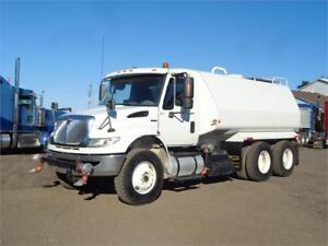 2010 INTERNATIONAL DURASTAR WATER SPRAYER TRUCK