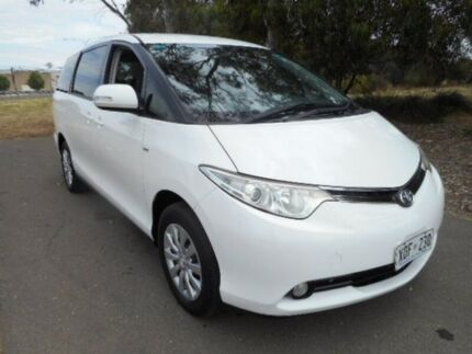 2007 Toyota Tarago White Sports Automatic Wagon Mile End South West Torrens Area Preview