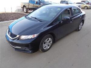 ** 2014 ** HONDA ** CIVIC ** LX ** SEDAN ** LOW KM **