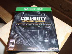 XBOX ONE CALL OF DUTY ADVANCED WARFARE ATLAS LIMITED EDITION