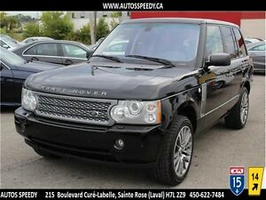 2008 RANGE ROVER SUPERCHARGED 4X4/NAVI/CAMERA/CLEAN CARPROOF