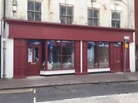 Spacious newly refurbished double front shop Wolverhampton Street Dudley