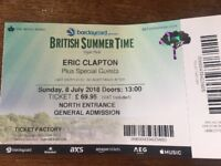 ERIC CLAPTON & SPECIAL GUESTS BRITISH SUMMERTIME FESTIVAL - 8th JULY