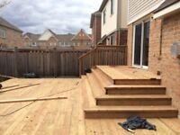 Decks  builders &  Deck repair.  GTA and surrounding area