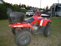 SELLING WIFES QUAD--2006 ARTIC CAT 400 AWD! EXC COND!!