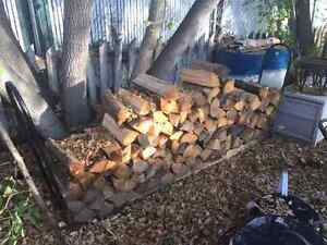 Firewood - $3 for 8-piece-bundle or 35$ for the whole pile