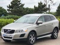 VOLVO XC60 2.4 D5 SE LUX NAV AWD 5d AUTO 212 BHP (gold) 2012
