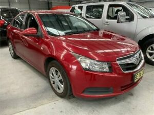 2009 Holden Cruze JG CD Burgundy 6 Speed Sports Automatic Sedan Boolaroo Lake Macquarie Area Preview