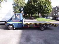 FORD TRANSIT RECOVERY WITH WINCH & RAMPS -1993 BANANA ENGINE - MOT 29 JULY 2017 - READY FOR WORK