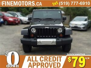 2012 JEEP WRANGLER UNLIMITED SAHARA * 4x4 * BOTH HARD & SOFT TOP London Ontario image 4