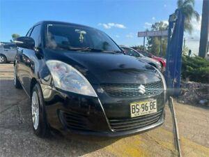2012 Suzuki Swift FZ GL Black 5 Speed Manual Hatchback Chester Hill Bankstown Area Preview