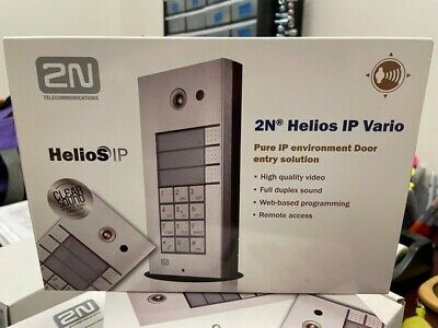 2n Helios Ip Vario Door Intercom Wcamera