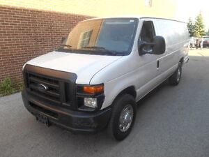 2010 Ford E-250 Econoline Commercial Cargo Van, Low KMs