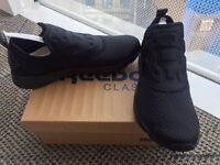 Reebok Black Furylite Slip On Trainers - Size 6 - BRAND NEW