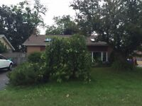 Quiet waterfront house in Oshawa for renting