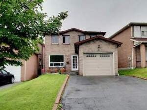 4 Bedroom Detached Home For Rent in Central Ajax