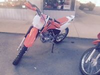 CRF230F in new condition!