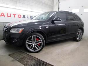 2016 Audi SQ5 3.0T V6 Technik BLACK OPTICS CUIR ROUGE