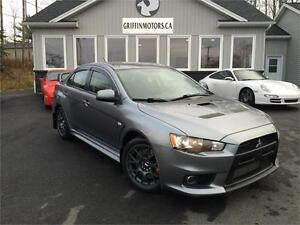 2013 Mitsubishi Evolution only 253 B/W OAC