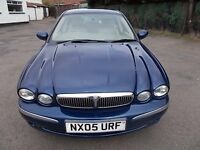 JAGUAR X TYPE 2.0 D SE DIESEL SALOON 05 REG,, FULL LEATHER INTERIOR,, MOT MARCH 2018