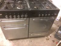 Range cooker, Dual Fuel