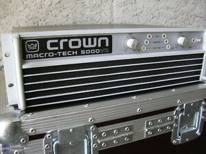 Crown Macro Tech 5000vz