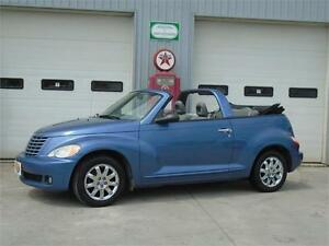 2007 Chrysler PT Cruiser Touring Edition Convertible w/ LOW KM's