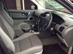 2008 Ford Territory SY MY07 Upgrade TX (RWD) Grey 4 Speed Auto Seq Sportshift Wagon