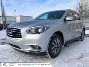2015 Infiniti QX60 CPO rates as low as 0.9%, 6YR/160,000 WARRANT