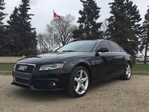 2010 Audi A4, PREMIUM PLUS, AUTO, AWD, LEATHER, ROOF, CLEAN!