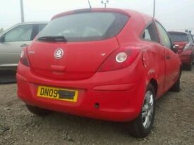 Corsa D Passenger Mirror 2009 Red