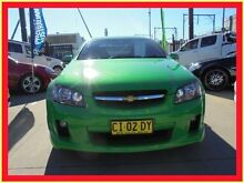 2007 Holden Commodore VE SV6 Green 5 Speed Automatic Sedan Holroyd Parramatta Area Preview