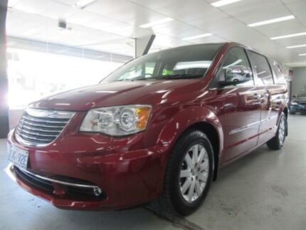 2012 Chrysler Grand Voyager RT MY13 Limited Burgundy 6 Speed Automatic Wagon