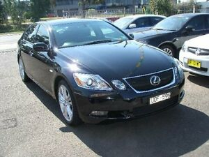2006 Lexus GS450H GWS191R Hybrid Black Continuous Variable Sedan Canada Bay Canada Bay Area Preview