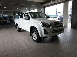 2017 Isuzu D-MAX LS-M Splash White Automatic Dual Cab Thornleigh Hornsby Area Preview