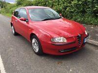 Alfa Romeo 147 T Spark Mot until end January 2017 75,000 miles cheap car