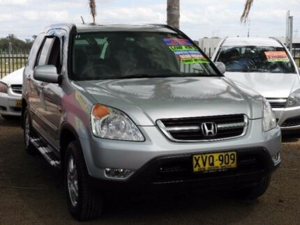 2002 Honda CR-V RD MY2002 Sport 4WD Silver 4 Speed Automatic Wagon Colyton Penrith Area Preview