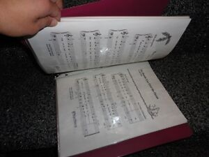 BINDER FULL OF MUSIC NOTES FOR BEGINNER LEVEL LEARNING London Ontario image 4