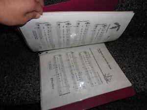 BINDER FULL OF MUSIC NOTES FOR BEGINNER LEVEL LEARNING London Ontario image 4