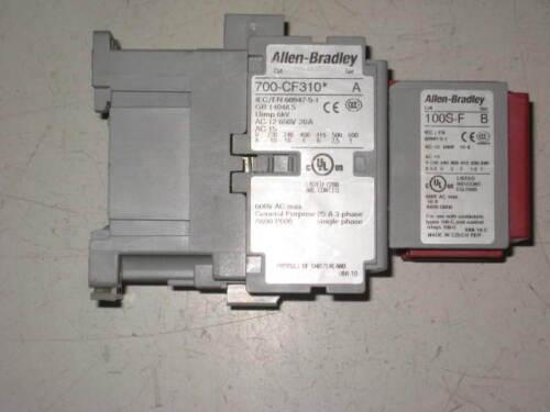 Allen Bradley 700-CF310/100S-F Control Relay Series A (B1)