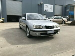2001 Hyundai Elantra XD GLS Silver 4 Speed Automatic Hatchback Newport Hobsons Bay Area Preview