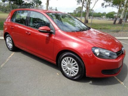 2010 Volkswagen Golf VI MY10 90TSI DSG Trendline Red 7 Speed Sports Automatic Dual Clutch Hatchback Clontarf Redcliffe Area Preview