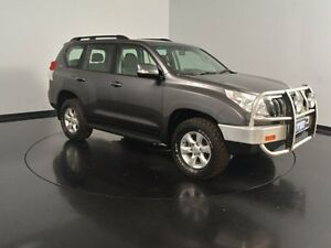 2010 Toyota Landcruiser Prado KDJ150R GXL Grey 5 Speed Sports Automatic Wagon Welshpool Canning Area Preview