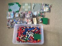 Lego 10kg vintage mixed job lot 80/90's - all genuine Lego from City & Space sets of that era